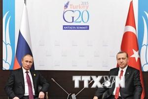 Tổng thống Nga và Thổ Nhĩ Kỳ sẽ sẽ hội đàm vào đầu tháng 8