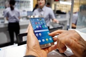 Còn gần 500 sản phẩm Galaxy Note 7 chưa được thu hồi tại Việt Nam