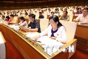 Kỳ họp thứ 3, Quốc hội khóa XIV: Thông qua 2 dự án Luật
