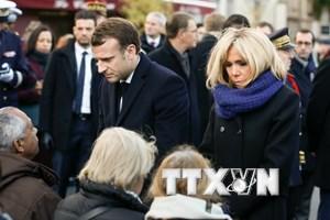 Pháp tưởng niệm hai năm loạt vụ tấn công khủng bố ở Paris