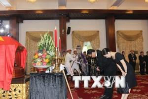 Bạn bè quốc tế đến viếng nguyên Thủ tướng Phan Văn Khải