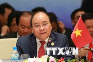 Thủ tướng Nguyễn Xuân Phúc đồng chủ trì Hội nghị Cấp cao CLV 10