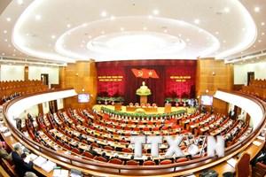 Phiên bế mạc Hội nghị lần thứ bảy Ban Chấp hành Trung ương Đảng khóa X
