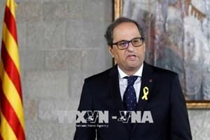 Thủ hiến Catalonia ký sắc lệnh đề cử thành viên chính quyền mới