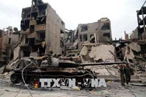Quân đội Syria tăng cường tấn công ở mặt trận Tây Nam