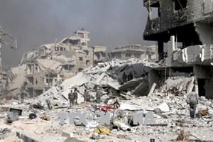 Tên lửa Israel bắn vào gần sân bay Damascus của Syria