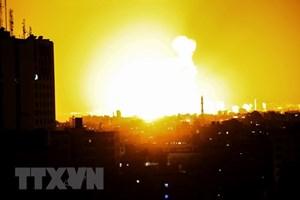 Quân đội Israel tấn công 2 vị trí quân sự của Hamas ở Gaza