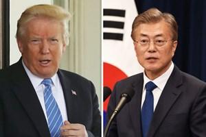 Tổng thống Mỹ, Hàn thảo luận về triển vọng đối thoại với Triều Tiên