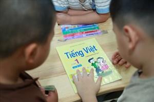 Cần Thơ: Nhiều phụ huynh hài lòng với Tiếng Việt 1 công nghệ giáo dục
