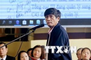 Nguyễn Thanh Hóa phủ nhận lời khai của mình tại cơ quan điều tra
