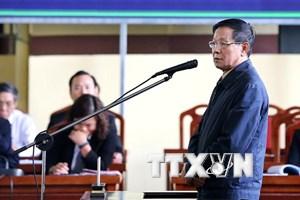 Bị cáo Phan Văn Vĩnh ân hận vì làm liên lụy đến nhiều người