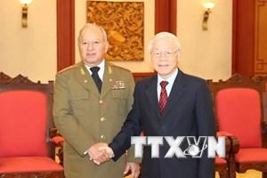 Tạo điều kiện để quan hệ quốc phòng Việt Nam-Cuba tiếp tục phát triển
