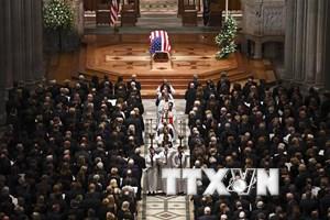 Điện chia buồn về việc cựu Tổng thống George H.W. Bush qua đời