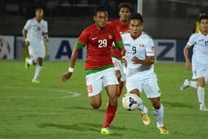 Loại chủ nhà Myanmar, U23 Indonesia giành vé vào bán kết