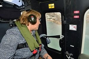 Tổng thống Chile cũng được sơ tán để tránh sóng thần