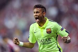 """Neymar cạnh tranh danh hiệu """"Vua phá lưới"""" Champions League"""