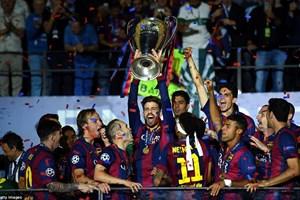 Barcelona lập nên kỳ tích sau chức vô địch Champions League