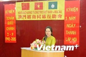 Cộng đồng người Việt tại Macau míttinh mừng Quốc khánh 2/9