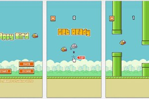 Flappy Bird đánh bại game 500 triệu USD về khoản tìm kiếm