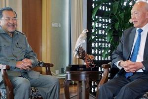 Cựu Thủ tướng Malaysia chia sẻ cảm xúc về ông Lý Quang Diệu