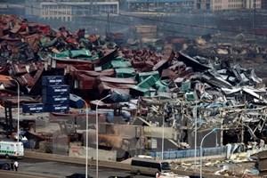 Số người thiệt mạng trong vụ nổ ở Thiên Tân tiếp tục tăng