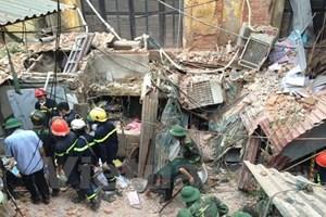Hà Nội tiếp tục khắc phục sự cố vụ sập nhà 107 Trần Hưng Đạo