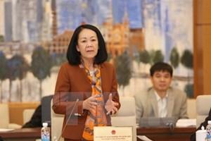 Tiểu sử Ủy viên Bộ Chính trị khóa XII Trương Thị Mai