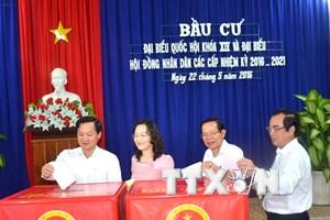 Bạc Liêu bầu đủ số lượng đại biểu Quốc hội và HĐND cấp tỉnh