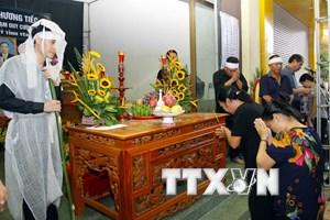 [Photo] Lễ viếng Bí thư Tỉnh ủy và Chủ tịch HĐND tỉnh Yên Bái