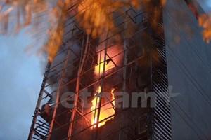[Video] Kỹ năng thoát nạn khi xảy ra cháy, nổ tại các nhà cao tầng