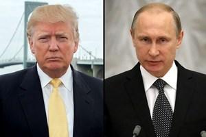Tổng thống Mỹ Donald Trump điện đàm với Tổng thống Nga Putin