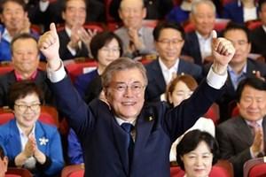 Ông Moon Jae-In tuyên thệ nhậm chức Tổng thống Hàn Quốc