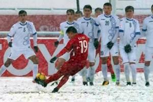 Pha sút phạt 'cầu vồng' của Quang Hải đoạt giải Bàn thắng đẹp nhất