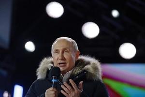 Lãnh đạo Đức, Iran chúc mừng chiến thắng của ông Vladimir Putin