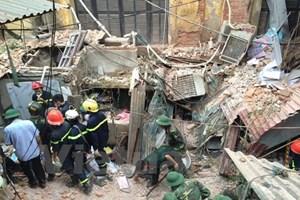 """Sập nhà cổ phố Trần Hưng Đạo: """"Không phát hiện nguy cơ mất an toàn!"""""""