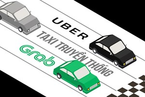 Grab bị 'khoác áo' taxi: Bước đẩy lùi công nghệ từ 4.0 về 0.4?