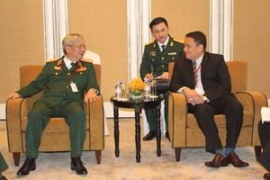 Đoàn Bộ Quốc phòng tiếp xúc song phương tại Đối thoại Shangri-La