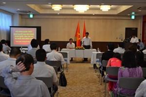 Đảng ủy tại Nhật Bản quán triệt nghị quyết Đại hội XII của Đảng