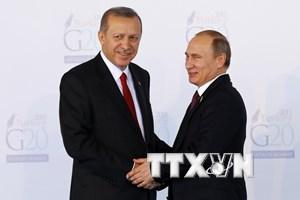 """[Video] Thổ Nhĩ Kỳ hy vọng mở ra """"trang mới"""" trong quan hệ với Nga"""