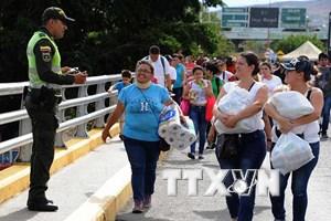 Colombia: Việc mở cửa biên giới với Venezuela diễn ra an toàn