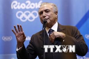 """Tổng thống lâm thời Brazil: Olympic """"thành công tuyệt đối"""""""