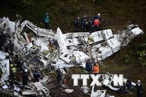 Vụ rơi máy bay tại Colombia: Máy bay không có nhiên liệu dự trữ