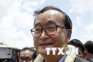 Campuchia: Ông Sam Rainsy đề nghị để vợ mình làm Chủ tịch CNRP