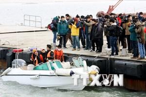 Hàn Quốc tưởng niệm 3 năm ngày xảy ra vụ chìm phà Sewol