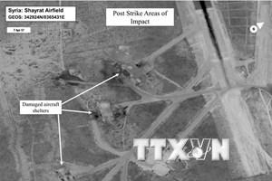 Syria lên án Mỹ tấn công bằng tên lửa để gửi thông điệp tới Triều Tiên