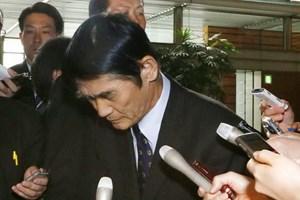 Bộ trưởng Tái thiết Thảm họa Nhật Bản từ chức sau phát ngôn nhạy cảm