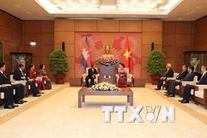 Tăng cường hơn nữa quan hệ hợp tác toàn diện Việt Nam-Campuchia