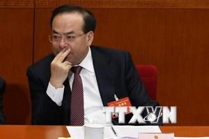 Trung Quốc khởi tố cựu Bí thư Thành ủy Trùng Khánh Tôn Chính Tài