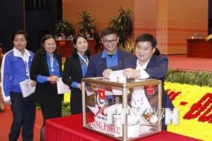 Đại hội Đoàn: Tiến hành công tác nhân sự trong phiên làm việc thứ tư
