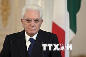 Tổng thống Italy gửi điện mừng đến Chủ tịch nước Trần Đại Quang